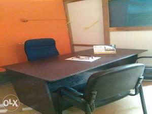 Office decoration - secretary table, chairs,
