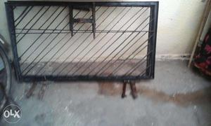 Double dooe iron gate made with pure iron