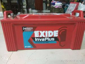 Exide Inverter battery very less used. Excellent Condition.