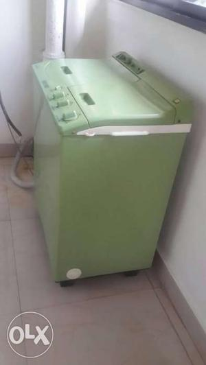Green Top Load Washing Machine And Dryer