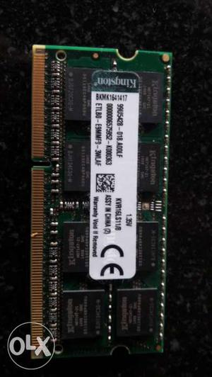 Kingston value Ram Low voltage series DDR3 8Gb