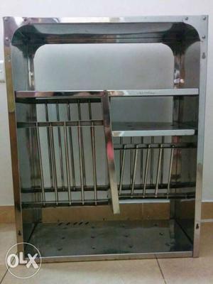 Kitchen Utensil Steel Rack Stand
