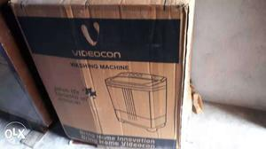 Videocon Washing Machine Box