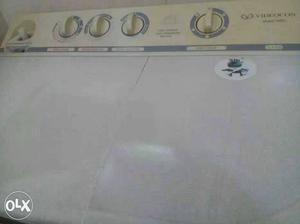 Videocon washing machine 6.8 kg mint condition