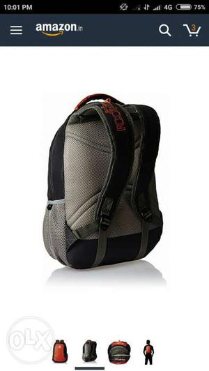 I want to sell a brand new skybags backpack at
