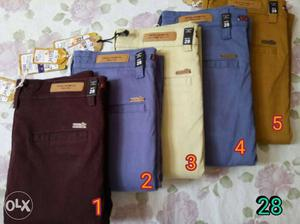 Mens branded trousers only at 950/-