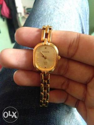 Sonata wrist watch for women