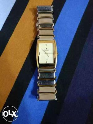 Titan analog watch