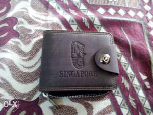 Wallet - Made in Singapore Singapore leather