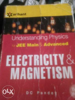 Electricity and Magnetism by DC Pandey very
