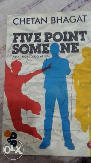 Five Point Someone By Chetan Bhagat Book
