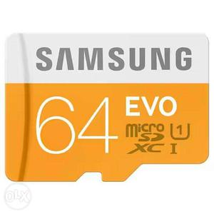 64 gb memory card only in