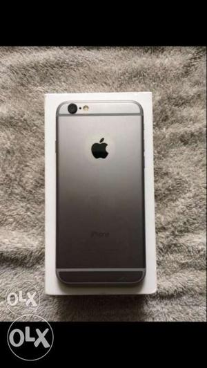 Apple iPhone 6 16 gb space grey with bill box &