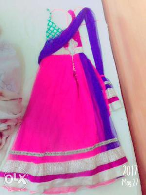 Beautiful anarkali suit for girls Suitable for 10