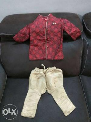 Indo western dress for boys of 2-3 years. my son