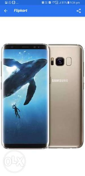 Samsung Galaxy S8 Plus MAPLE GOLD.. Only EXCHANGE