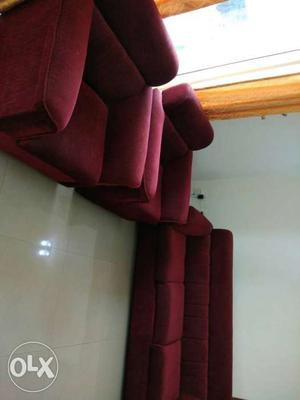 3+1+1 branded sofa almost new