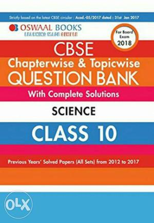 A new book for  exam preparations