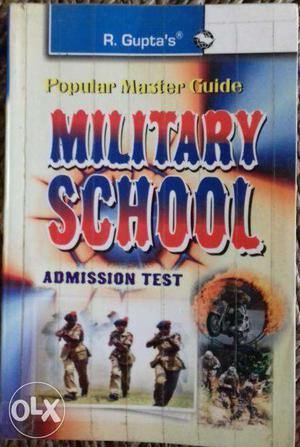 A very good book for preparing of military scl