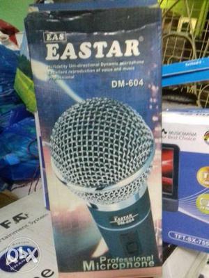 Black Eastar Microphone Box