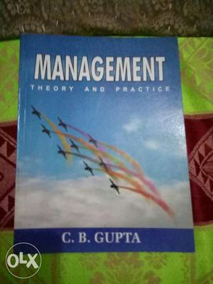 Book management theory and practice by C. B.