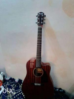 Fender CD140SCE acoustic- electic guitar. very