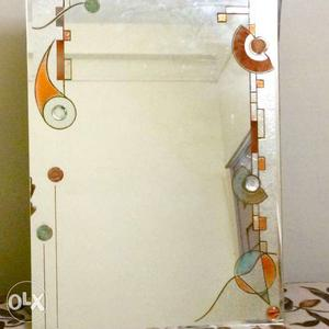 Glass Design Mirror