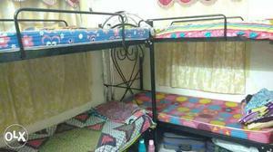 One set Black Metal Bunk Beds v have 15 sets...