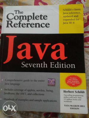 The Complete Reference Java Seventh Edition By Herbert
