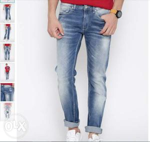 Brand new Pepe Jeans Blue Washed Hatch Fit Jeans