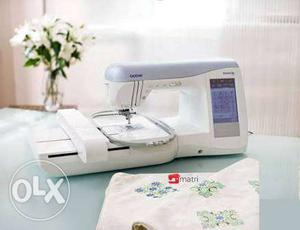 Brother is  Embroidery Sweing Machine for sale