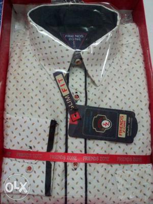 Friends zone shirt khadi cotton shirt at best price new