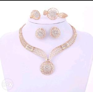 Jewelry Sets For Women Wedding Dress Zinc Alloy
