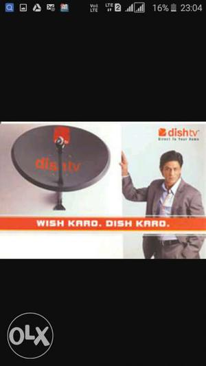 Dish tv new cannaction life time warranty