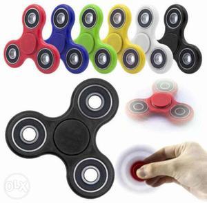 Fidget Hand Spinner - Tri spinner with ultra speed