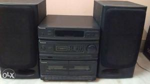 Partially working sound system, fm and speakers