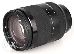 Sony  FE & E mount lens