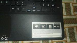 Acer aspire e15 start 2gb ram and 500gb hard disk with