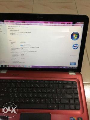 Laptop: HP Pavilion DV6 Notebook, Intel Core i7