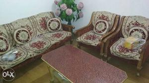 Complete furniture set for sale...at real low