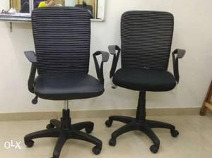 Office chairs..as good as new - 6 chairs at INR