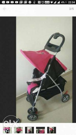 Pink, White, And Black Stroller Screenshot