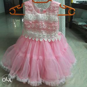 Birthday gown 1years old single use