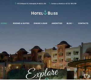 Hotel website design to attract more tourist and sales
