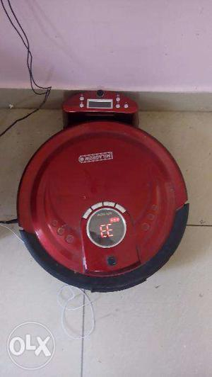 Milagrow RedHawk India's No.1 Floor cleaning Robots, it's a