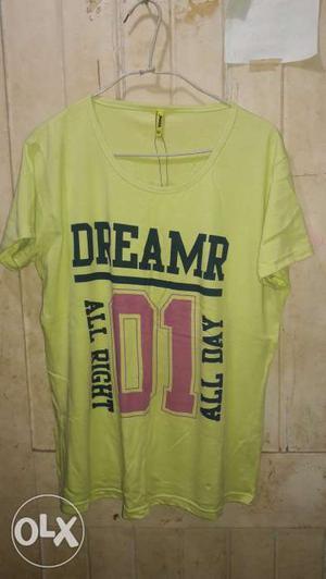 Brand New Cotton T Shirt