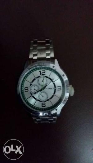 Brand New Timex Stainless Steel Watch For Men