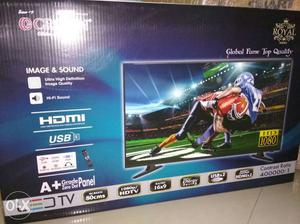 Brand new seal pack led 40inch smart just /-