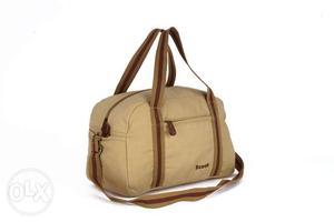Brown 2 Way Handbag