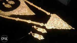 Gold Platted Imported Jewellery from Dubai BRAND NEW with